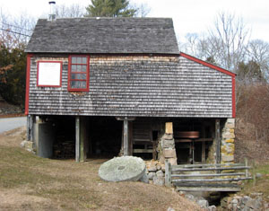 The Samual Perry Grist Mill