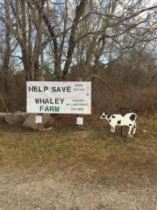 Sign on Bayfiield Farm Road